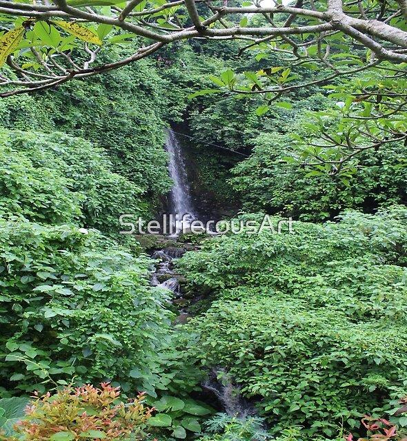 Waterfall Photography by StelliferousArt