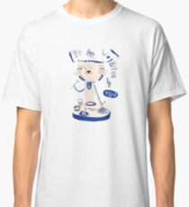 Cat & Fish Classic T-Shirt