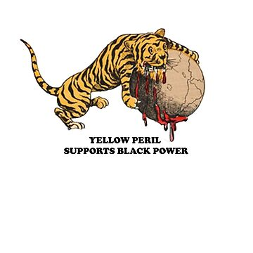 YELLOW PERIL SUPPORTS BLACK POWER by astrologic