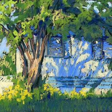 House with Blue Shadows by kira-culufin