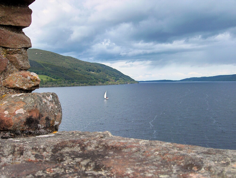 Loch Ness sailor by mipics