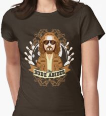 The Dude Abides Women's Fitted T-Shirt