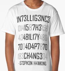 Adapt or Die Encoded Long T-Shirt