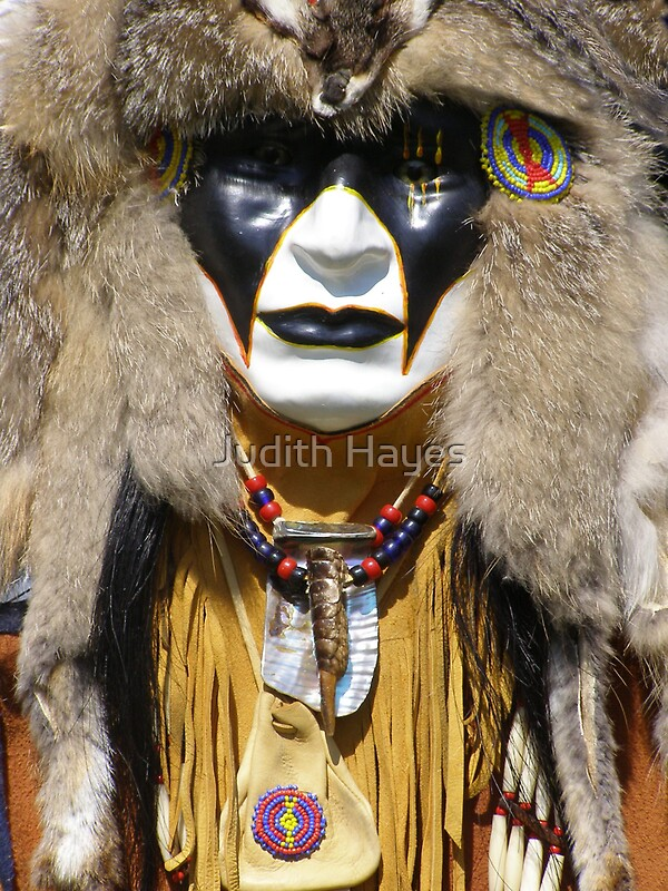 Quot Mask Of My Spirit Algonkian Quot By Judith Hayes Redbubble