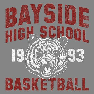 Bayside High Tigers Basketball (Variant) by huckblade
