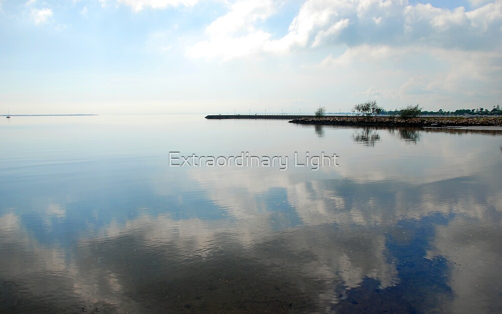 Clouds in the Bay by Extraordinary Light