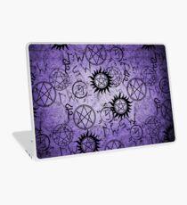 Supernatural Purple Laptop Skin