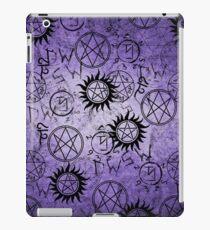 Supernatural Purple iPad Case/Skin