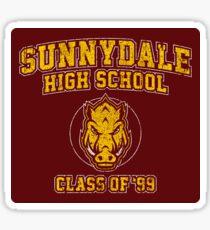 Sunnydale High School Class of '93 Sticker