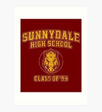 Sunnydale High School Class of '93 Art Print