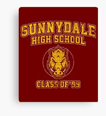 Sunnydale High School Class of '93 Canvas Print