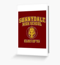 Sunnydale High School Class of '93 Greeting Card