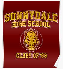 Sunnydale High School Class of '99 Poster