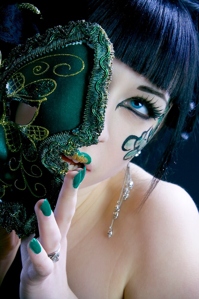 Jade Empress of Masks by Ian X.