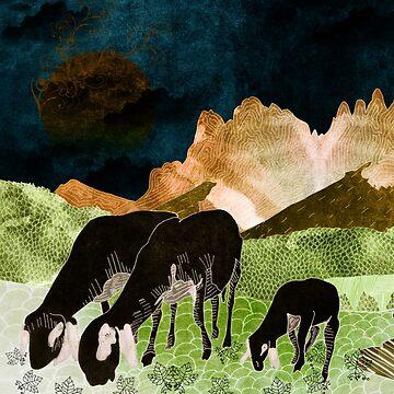 Mountain goats6 by Design4uStudio