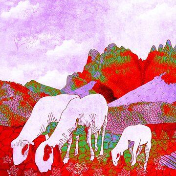 Mountain goats5 by Design4uStudio