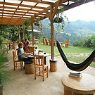 Relaxing - Earth Lodge - Antigua - Guatemala - Central America by exploramum
