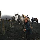Riding A Horse Up Pacaya Volcano - Antigua - Guatemala - Central America by exploramum