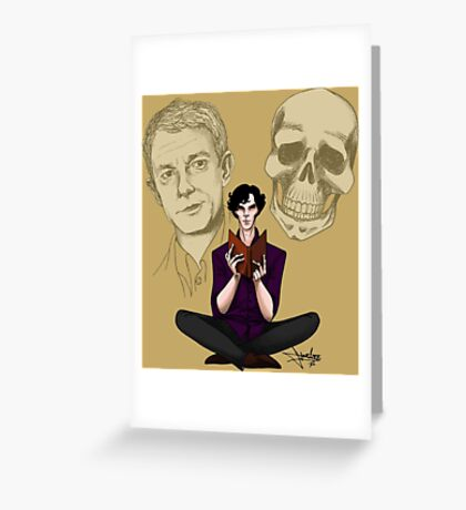 Sherlock & Friends Greeting Card