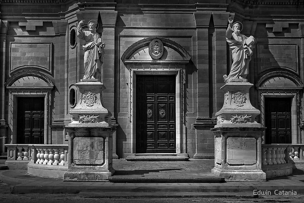 IVORY SAINTS by Edwin  Catania