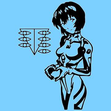 Rei Ayanami by OtakuPapercraft