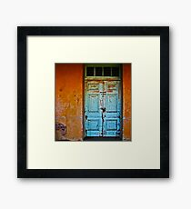 Authorised Persons Only Framed Print