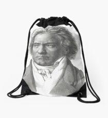 Beethoven Composer Music Teacher t shirt Drawstring Bag