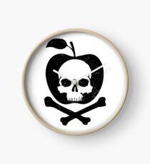 Poison Apple Clock
