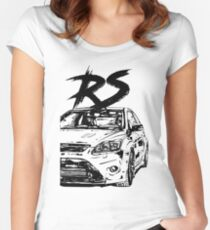 Focus 2 RS & quot; Dirty Style & quot; Women's Fitted Scoop T-Shirt