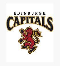Edinburgh Capitals Photographic Print
