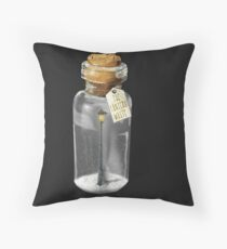 A Lantern in the Woods (Narnian Adventures) Throw Pillow