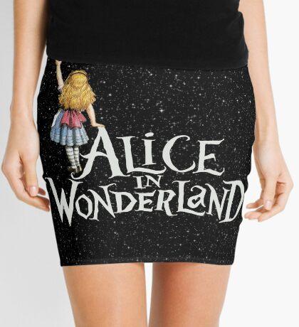 Alicia en el país de las maravillas noche estrellada Minifalda