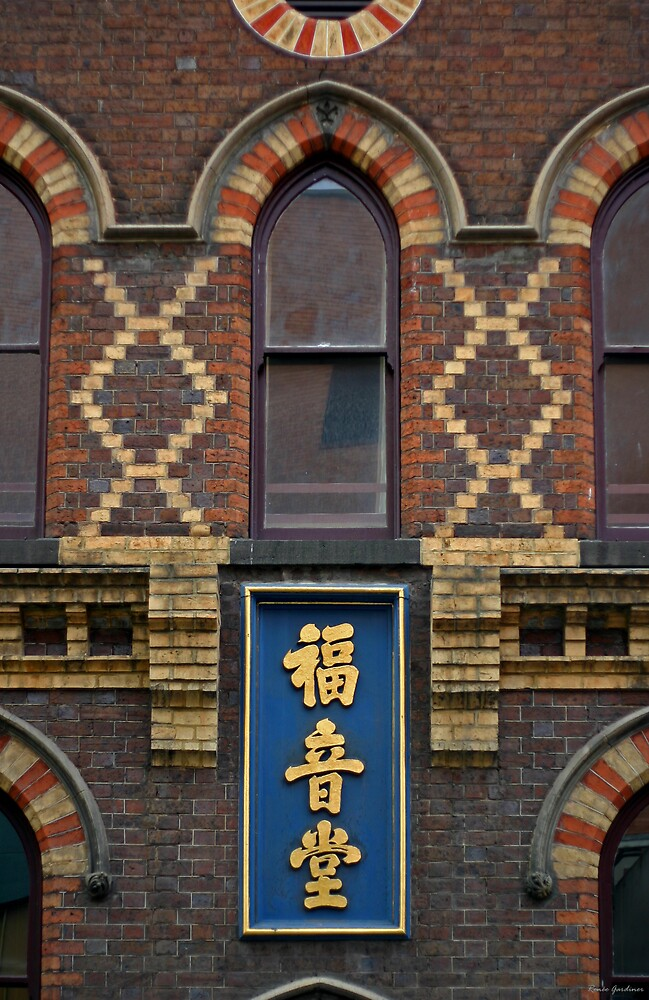Chinese Mission Hall, Melbourne by Renée Gardiner
