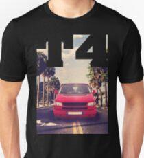T4 van Caravelle Bus Camper & quot; Palm Beach & quot; Unisex T-Shirt