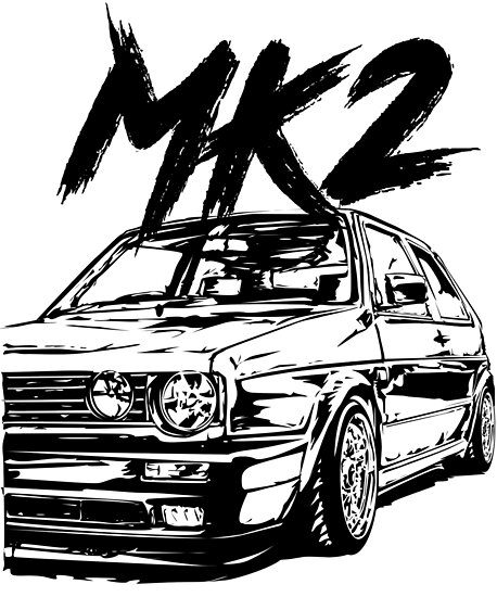 golf 2 gti mk2 quot dirty style quot posters by glstkrrn 2018 VW CC golf 2 gti mk2 quot dirty style quot by glstkrrn