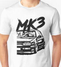 """Camiseta unisex Golf MK3 MK3 """"Estilo sucio"""""""