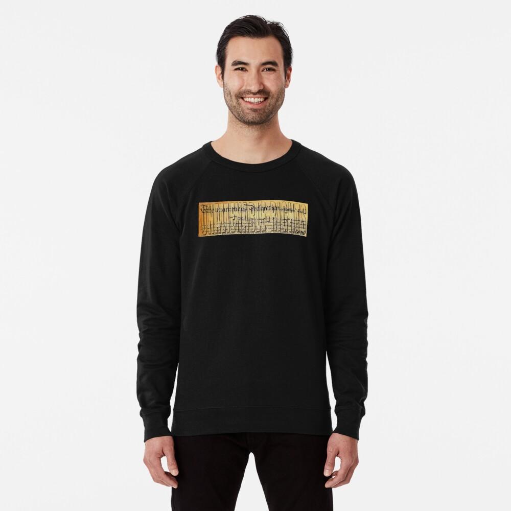 Unalienable Rights  Lightweight Sweatshirt Front
