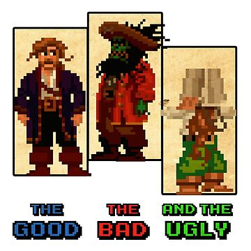 Monkey Island - The Good, The Bad and The Ugly by spegnilcomputer
