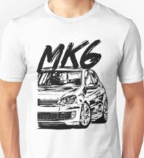 Golf 6 MK6 & quot; Dirty Style & quot; Unisex T-Shirt