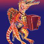 Jurassic Jazz - Spinosaurus plays Piano Accordion by MissMusica
