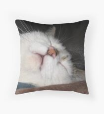 Zonked Out Throw Pillow