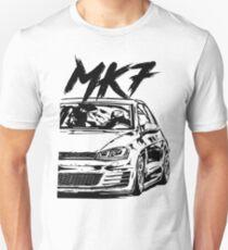 Camiseta unisex Golf 7 GTI MK7 GTI & quot; Estilo sucio & quot;