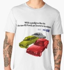 FORD ESCORT RS RANGE - 1976 MK2 Men's Premium T-Shirt