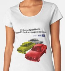 FORD ESCORT RS RANGE - 1976 MK2 Women's Premium T-Shirt