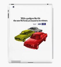 FORD ESCORT RS RANGE - 1976 MK2 iPad Case/Skin