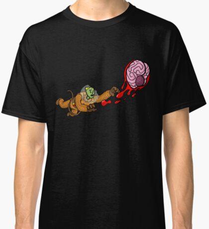 Astrozombie II: More Brains Classic T-Shirt
