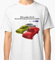 FORD ESCORT RS RANGE - 1976 MK2 Classic T-Shirt