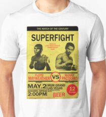 Manny Pacquiao Vs Floyd Mayweather Unisex T-Shirt