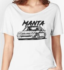 Manta B & quot; Dirty Style & quot; Women's Relaxed Fit T-Shirt