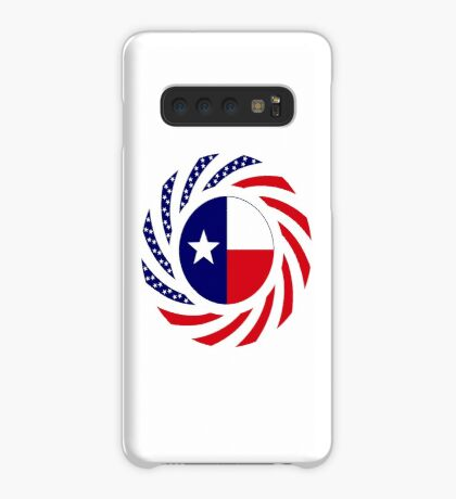 Texan Murican Patriot Flag Series Case/Skin for Samsung Galaxy